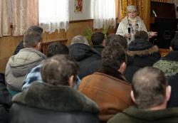 Сход в Астраханском заповеднике